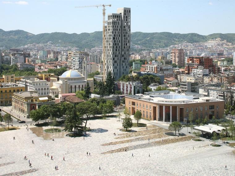 阿尔巴尼亚斯坎德培广场