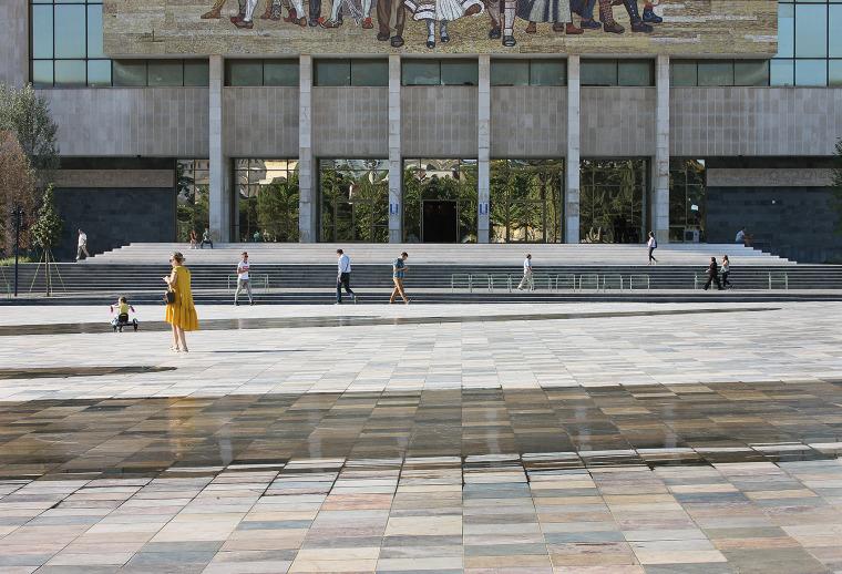 阿尔巴尼亚Skanderbeg广场改造-3