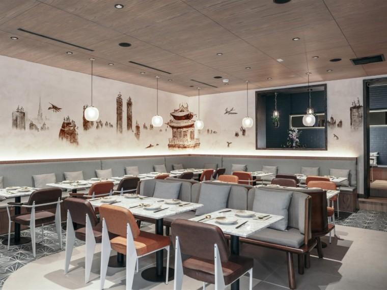 曼哈顿的中式餐厅