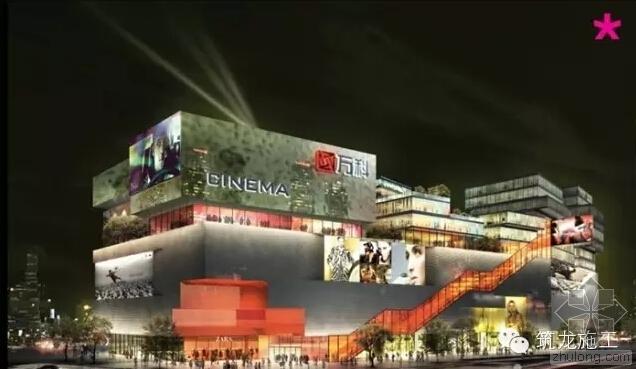 万科广场建设项目BIM技术应用全流程详解
