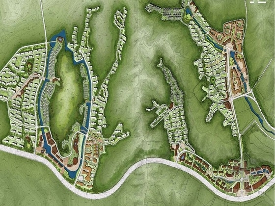 [沈阳]英伦小镇风格居住区景观规划方案