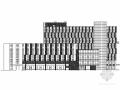 [江苏]8层现代风格健身中心建筑设计方案图