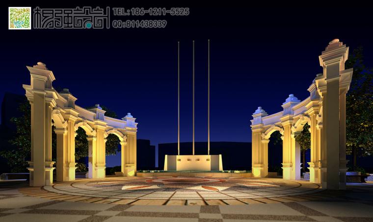 哈尔滨欧式建筑外观改造设计—杨强设计-04建筑外观-(夜景).jpg