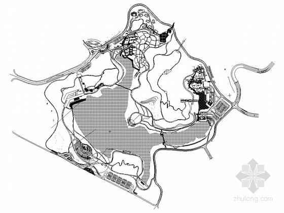 [湖南]人工湿地水环境整治工程施工图