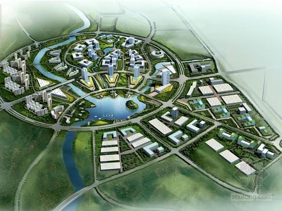 [山西]城市核心地块工业园区规划设计方案文本