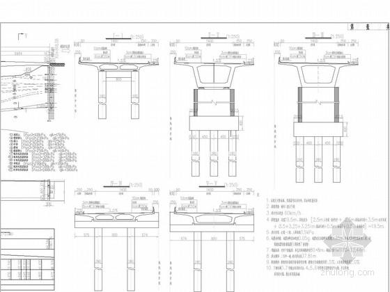 [湖南]60+2x100+60m变截面预应力刚构-连续梁及等截面连续箱梁桥设计图211张