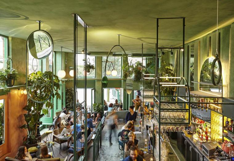 城市中的热带雨林阿姆斯特街角餐厅_6