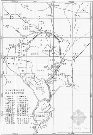 [山西]煤矿开采区工程地质勘探地质报告
