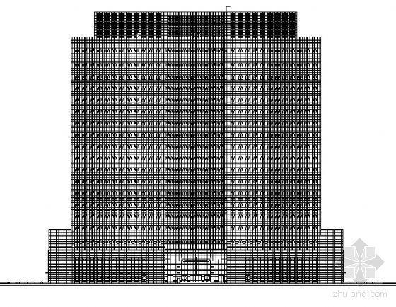 苏州工业园区十九层现代大厦建筑施工图