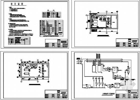 水源热泵空调机房图
