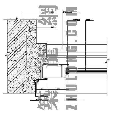 复合铝板幕墙标准大样图4