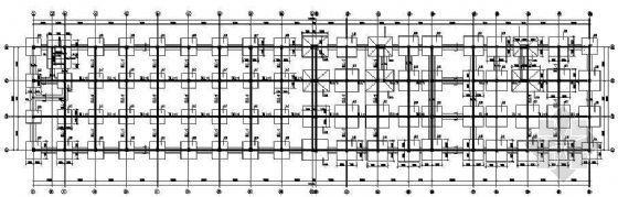 某20M跨钢梁的某车间框架结构图纸