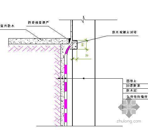 北京某安置房地下室防水工程施工方案