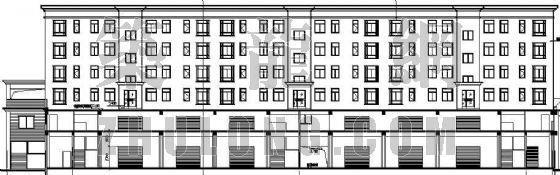 某商务住宅楼建筑施工图(全套)