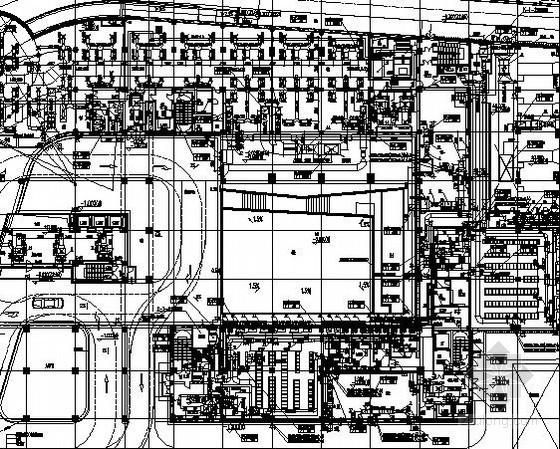 [江苏]通信业务中心空调通风及防排烟系统设计施工图