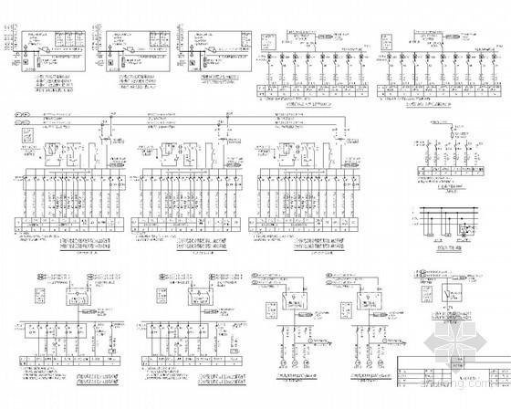 [重庆]知名高层大厦全套强弱电电气施工图纸