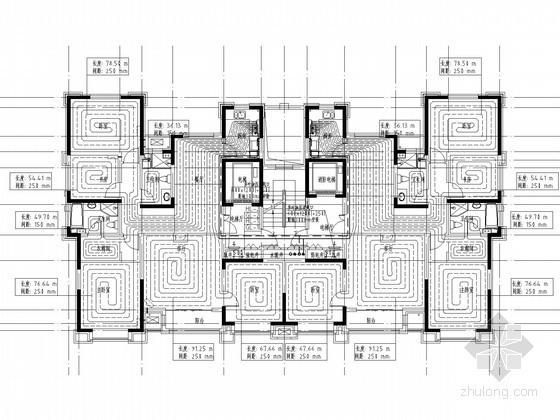 [天津]高层住宅小区采暖通风及防排烟系统设计施工图