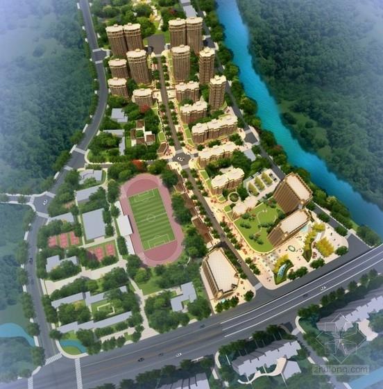 [安徽]现代风格混合住宅区规划及单体设计方案文本(含CAD  多个方案)