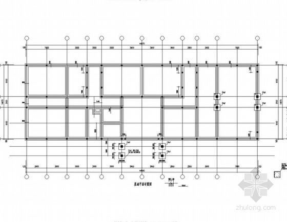 [济南]砌体结构敬老院办公楼、公寓、餐厅结构施工图