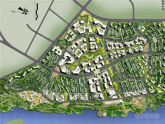 [四川]山水画卷风格生态人文滨江城市规划设计方案