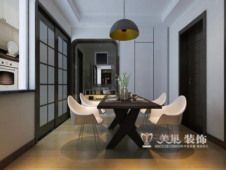 华润悦府110平两室两厅装修个性十足现代范_4