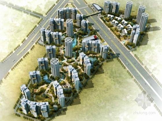 [广州]现代风格高层住宅区规划及单体设计方案文本