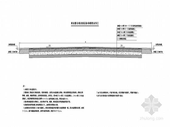 四级公路水泥混凝土路面修复改造工程全套施工图(58张)