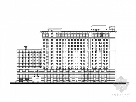 [上海]15层大型商业综合体建筑施工图(知名设计公司)