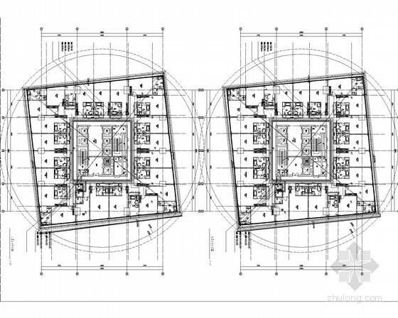 [湖北]大厦5星级酒店带连廊电气全套施工图143张(甲级院)