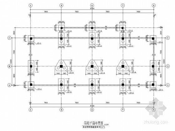五层带阁楼框架结构村委住宅楼结构施工图