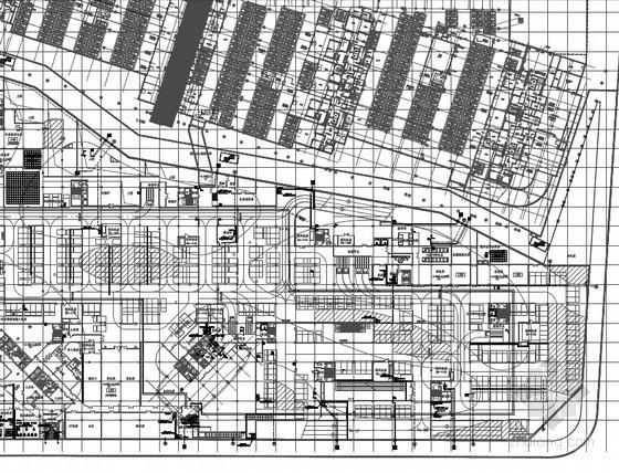 [上海]25万平城市综合体给排水图纸(泳池供回水系统、雨水回收利用、气体灭火)