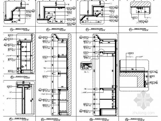 [苏州]简约小户型样板间室内装修图(含效果) 节点