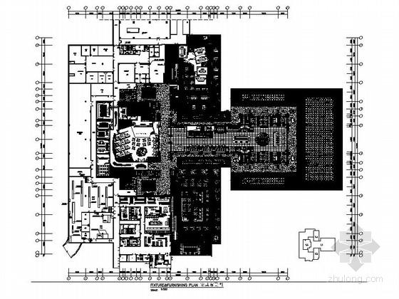 VIP包房室内装修施工图资料下载-[海南]东方夏威夷度假酒店医院服务保障楼室内装修施工图(含方案)