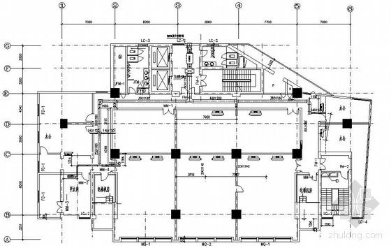 郑州某大厦制冷机房图