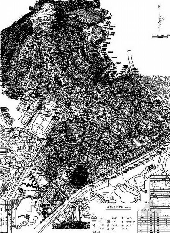 地产项目总平面图