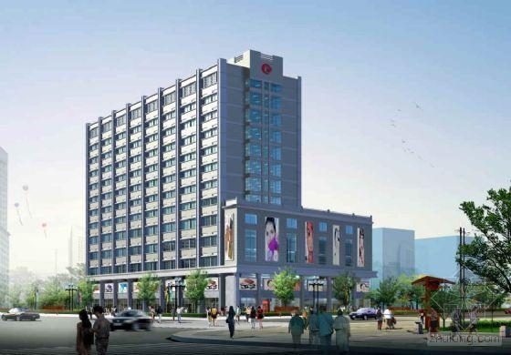 某高层酒店初步设计及效果图
