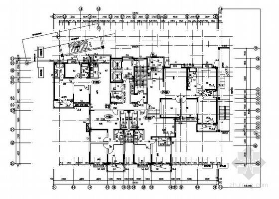 安徽某高层住宅楼给排水设计图纸