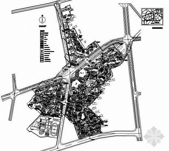 某新城市总体规划图