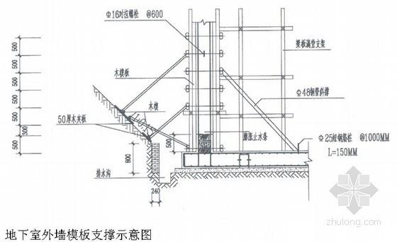 [四川]高层商住楼施工组织设计(筏板基础 石材幕墙)