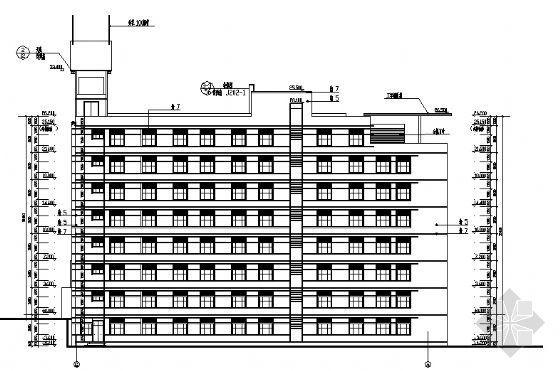 万洲公安局建筑施工图-2