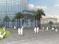 [福建]厦门中航紫金广场景观方案设计-AECOM(流动线性元素)