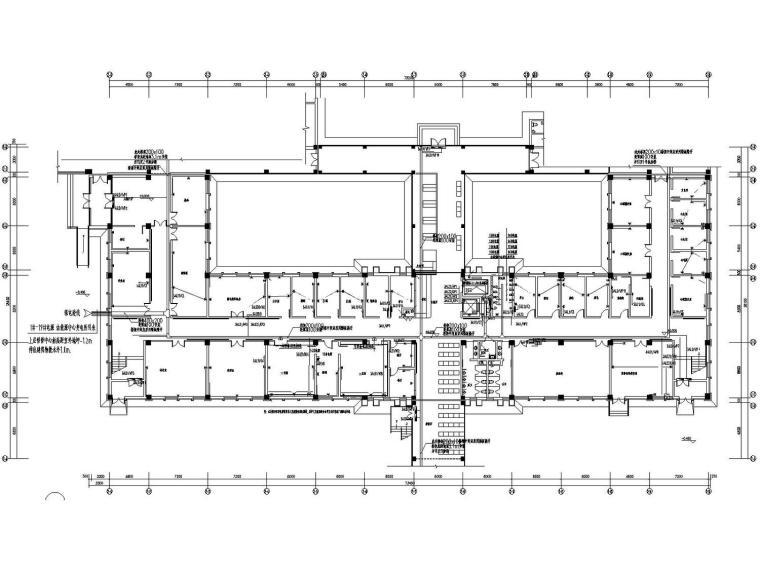 [分享]设计医院建筑施工图设计资料下载杰康复图片