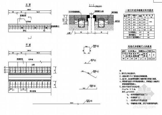104m预应力钢筋混凝土组合体系斜拉桥行车道伸缩缝构造节点详图设计