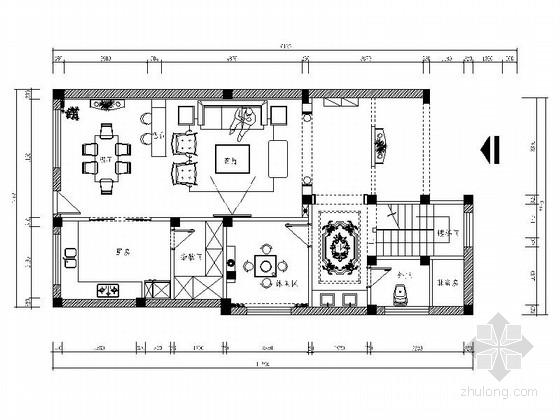 [江西]温泉旅游度假区简欧三层别墅装修图(含效果)