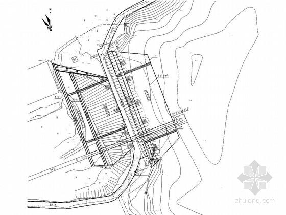 [湖南]小(二)型水库除险加固工程施工图(溢洪道 低涵 泄洪渠)
