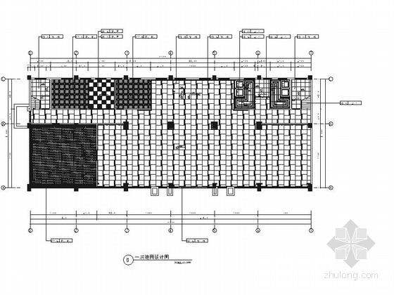 [河南]新新花园洋房区典雅欧式风格售楼处装修施工图(含效果)