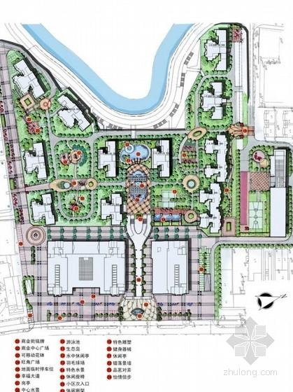 [福建]商住两用居住区景观概念设计方案
