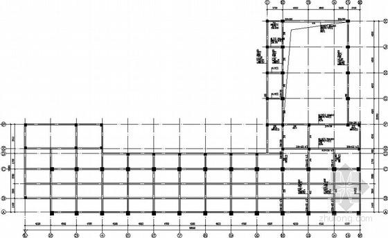 教学楼钢框架加层加固结构施工图