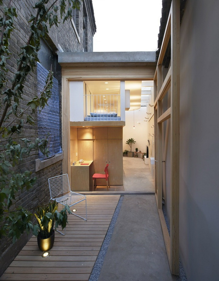 日本全能改造王青山周平在北京胡同里的设计:夹缝中的住宅