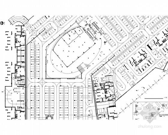 [广东]51万平米综合性商住小区强弱电系统全套图241张(国外设计院)